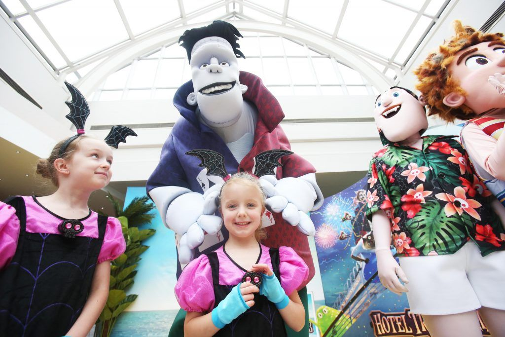 Pictured at the mulitimedia screening of Hotel Transylvania 3 which took place in Omniplex Rathmines. Photo: Leon Farrell
