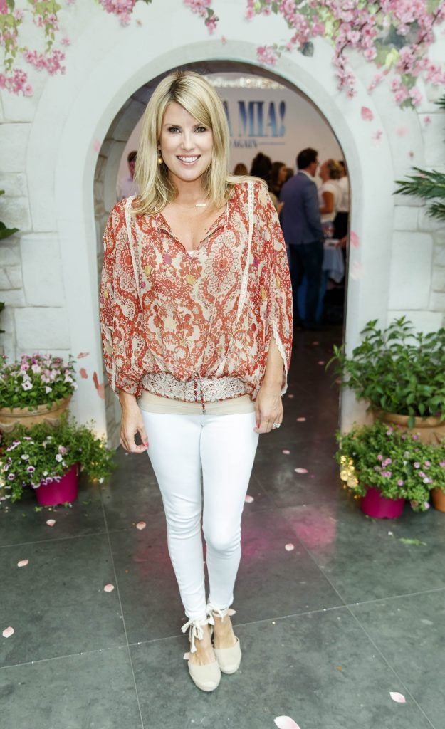 Jenny Buckley pictured at  the Universal Pictures Irish premiere screening of MAMMA MIA! HERE WE GO AGAIN at Odeon Point Square, Dublin. Picture Andres Poveda