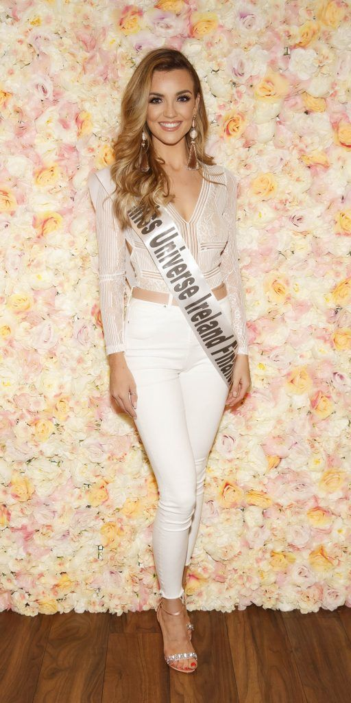 Nimah Frain pictured at the Miss Universe Ireland 2018 Pampering Launch Evening in Zero One Salon, Wicklow St, Dublin. Picture: Andres Poveda