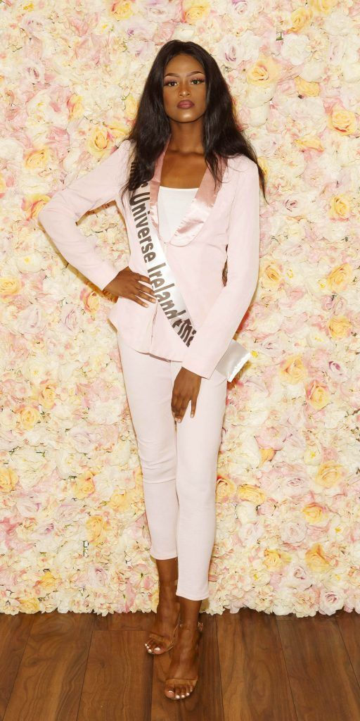 Aisahah Akorede pictured at the Miss Universe Ireland 2018 Pampering Launch Evening in Zero One Salon, Wicklow St, Dublin. Picture: Andres Poveda