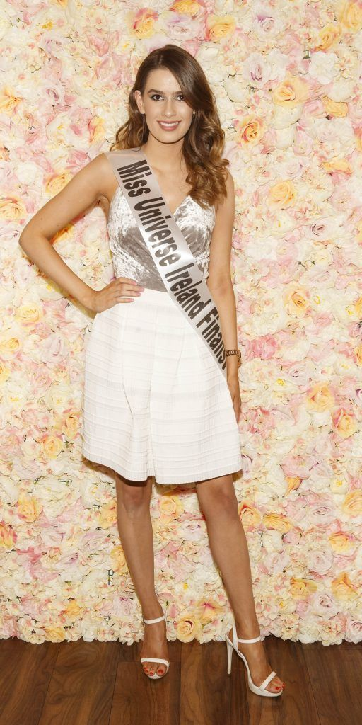 Aoife Ruttledge pictured at the Miss Universe Ireland 2018 Pampering Launch Evening in Zero One Salon, Wicklow St, Dublin. Picture: Andres Poveda