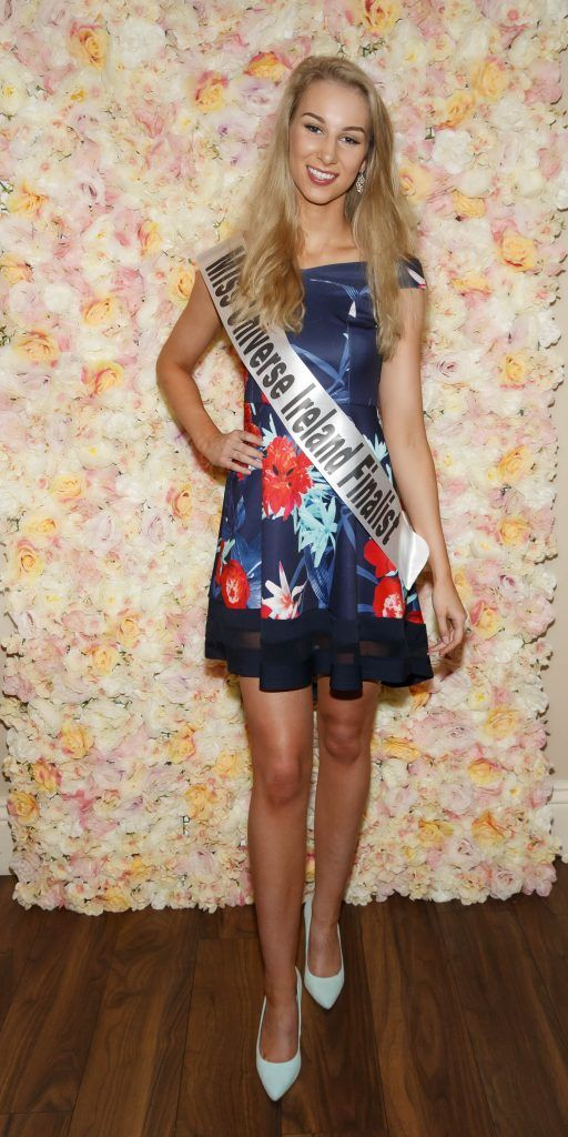 Naomi Ryan pictured at the Miss Universe Ireland 2018 Pampering Launch Evening in Zero One Salon, Wicklow St, Dublin. Picture: Andres Poveda