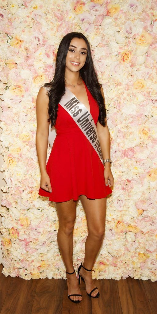 Elana Archer pictured at the Miss Universe Ireland 2018 Pampering Launch Evening in Zero One Salon, Wicklow St, Dublin. Picture: Andres Poveda