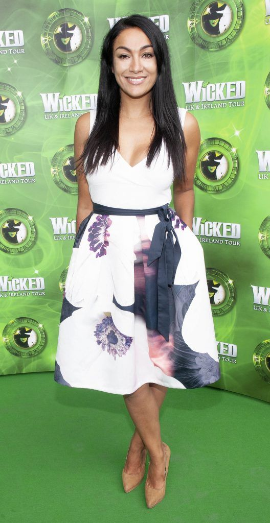 Gail Kaneswaran pictured at the opening night of the West End Musical Wicked at the Bord Gais Energy Theatre ,Dublin Picture: Brian McEvoy Photography