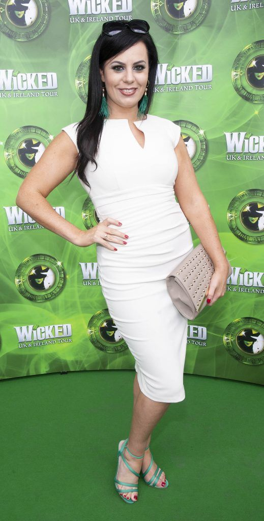 Audrey McGrath pictured at the opening night of the West End Musical Wicked at the Bord Gais Energy Theatre ,Dublin Picture: Brian McEvoy Photography