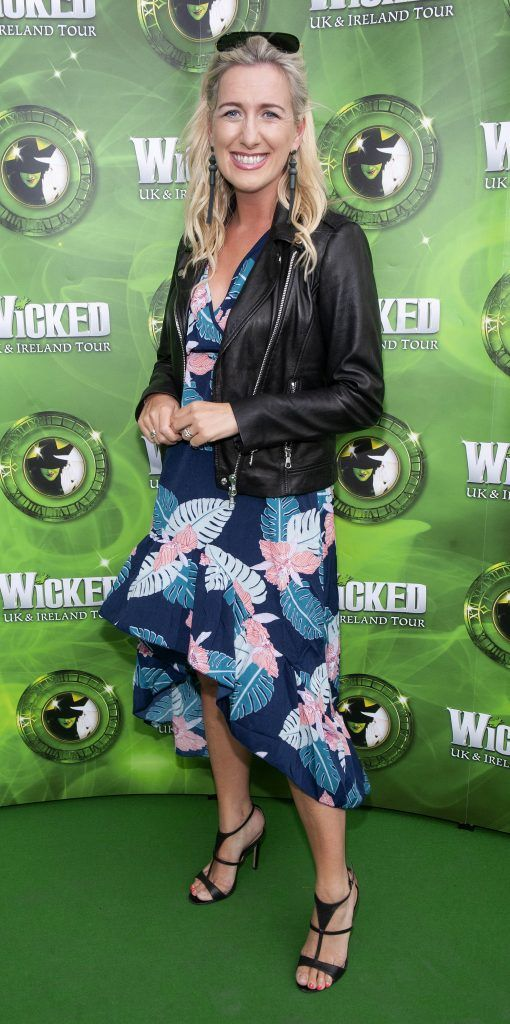 Ciara Doherty pictured at  the opening night of the West End Musical Wicked at the Bord Gais Energy Theatre ,Dublin Picture: Brian McEvoy Photography
