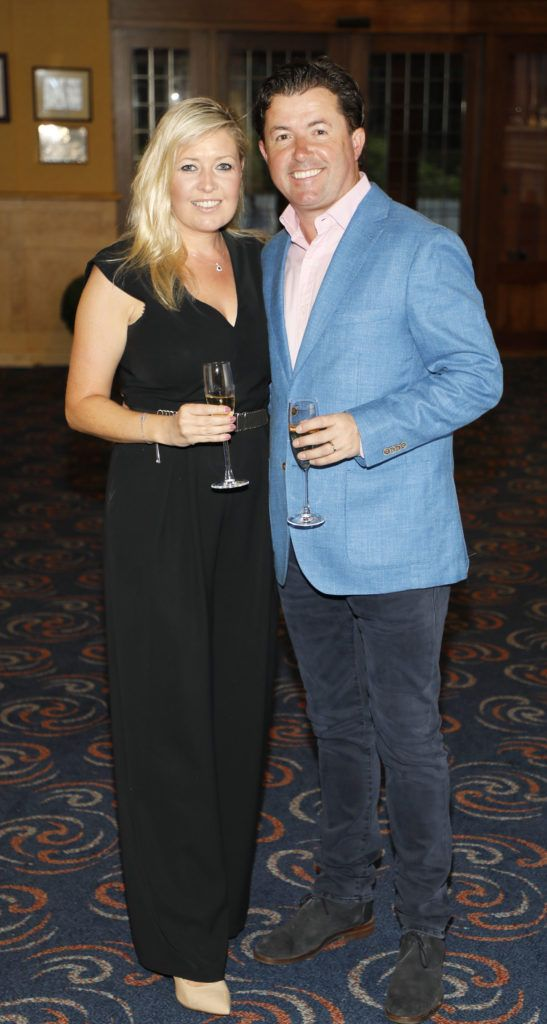 Clare Louise and Shane O'Donoghue at the 2018 Marks & Spencer Ireland Marie Keating Foundation Celebrity Golf Classic. Picture: Kieran Harnett