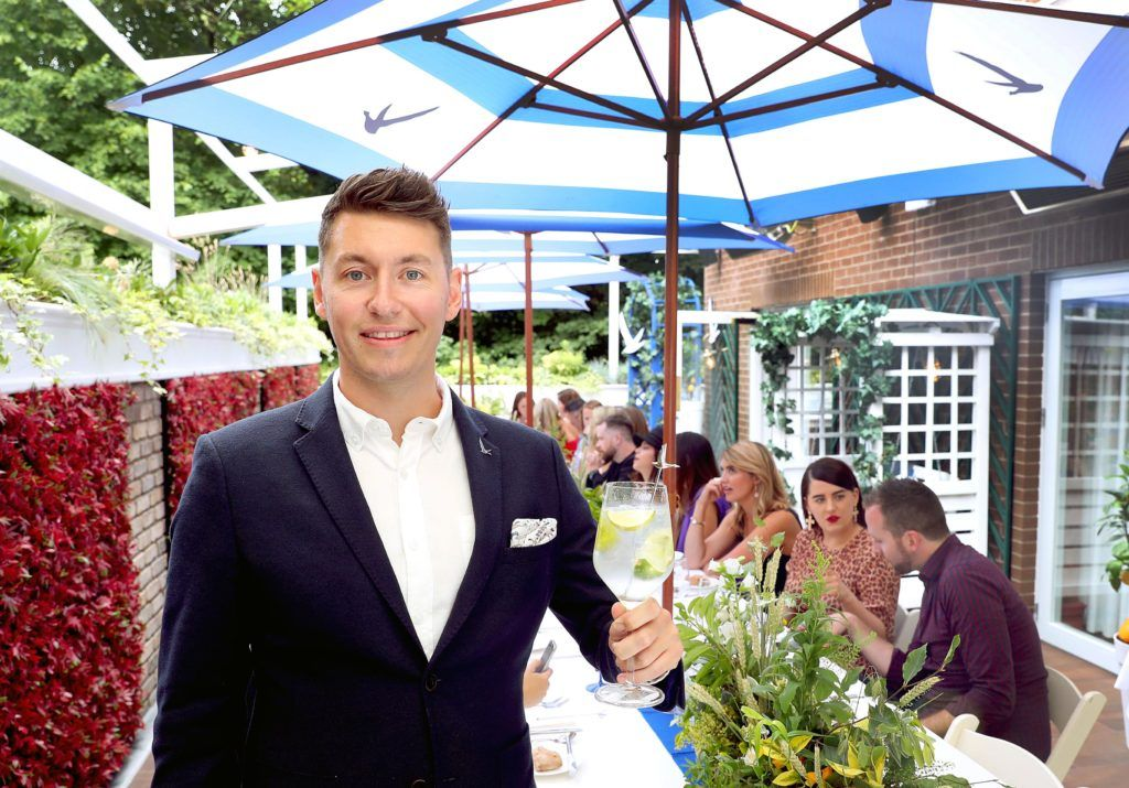 Grey Goose Ambassador Darren Myne pictured at the launch of OFF SCRIPT, a GREY GOOSE Production, at the Iveagh Garden Hotel. Picture: Marc O'Sullivan