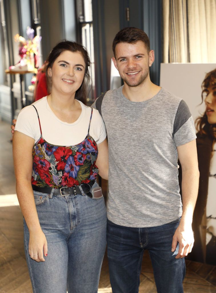 Suzy Ward and Cathal McCahey at the launch of Mint Velvet's AW18 collection at The Dean Hotel. Picture: Kieran Harnett