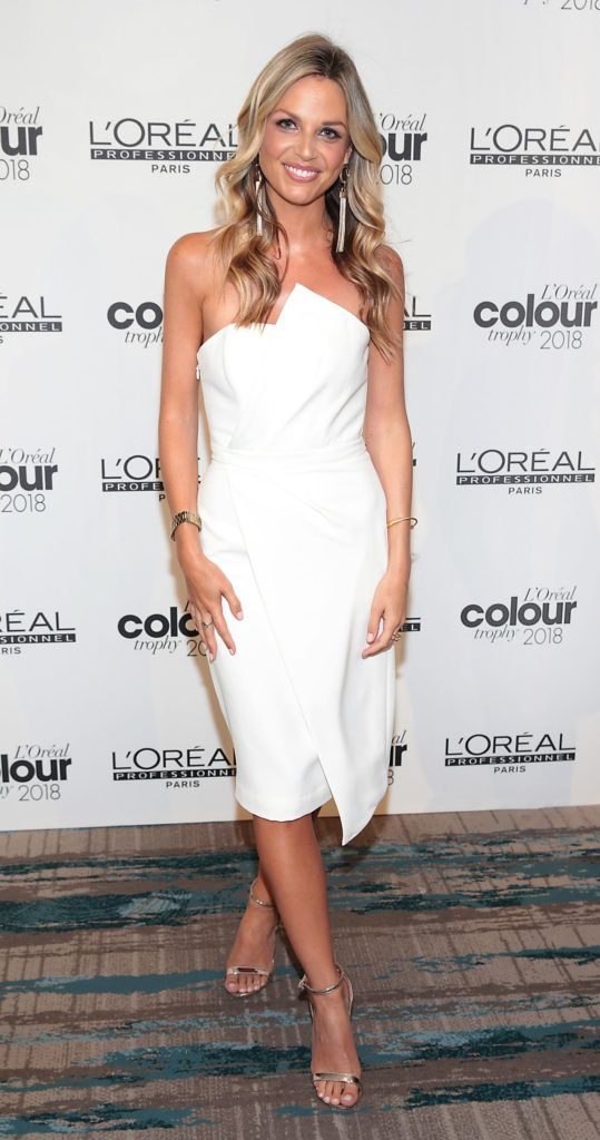 Ruth O Neill pictured at the L'Oréal Colour Trophy Grand Final 2018 at the Clayton Hotel, Dublin. Picture: Andres Poveda