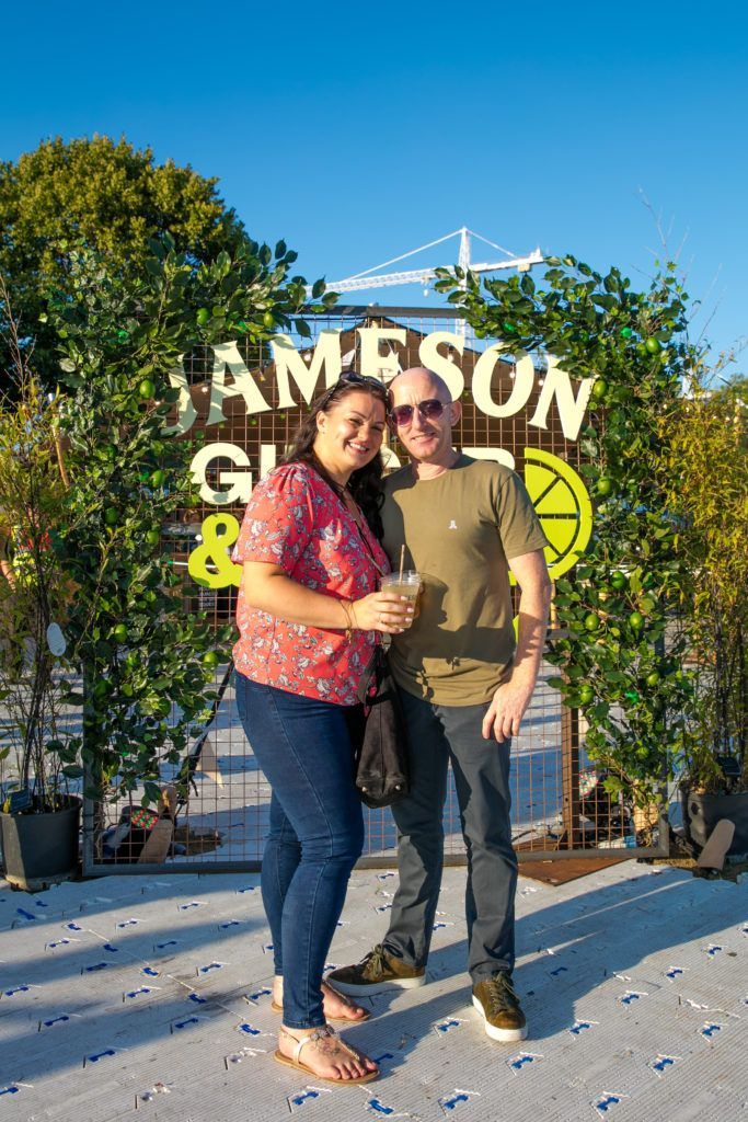 Pictured at Trinity Summer Sessions in partnership with Jameson Irish Whiskey where Rag n Bone man performed.