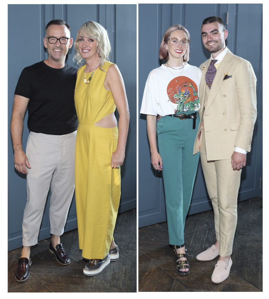 Brendan Courtney, Kim MacKenzie-Doyle,Niamh O Donoghue and Jake McCabe at the Institute of Designers Ireland Mind Over Matter 2018 launch in the Dean Hotel Dublin. Picture: Brian McEvoy
