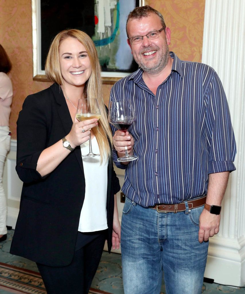 Chloe Hanratty and Geoff Codd pictured as the shortlisted entries for the biennial IAPI ADFX Awards were unveiled at an exclusive event in The Shelbourne Hotel. Picture: Marc O'Sullivan