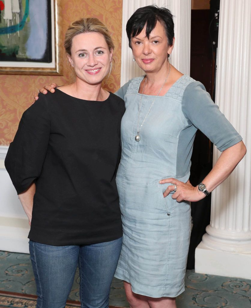 Sarah Sherry and Oonagh Gildea pictured as the shortlisted entries for the biennial IAPI ADFX Awards were unveiled at an exclusive event in The Shelbourne Hotel. Picture: Marc O'Sullivan