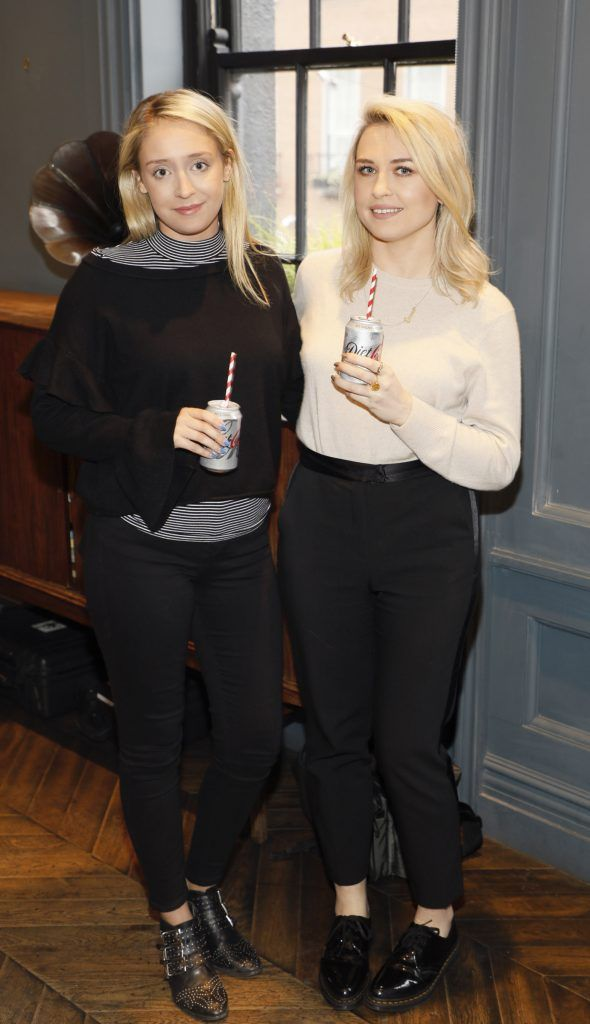 Tara Byrnes and Emma Williams at Diet Coke's Because I Can Dancing with Maia and Robert event. Photo Kieran Harnett