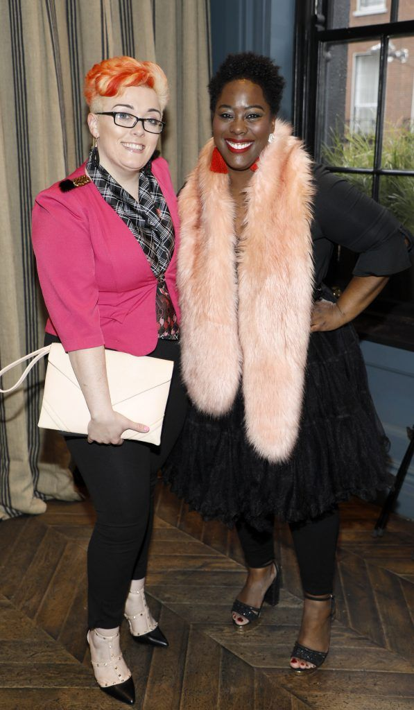 Liz McDonald and Nadine Reid at Diet Coke's Because I Can Dancing with Maia and Robert event. Photo Kieran Harnett