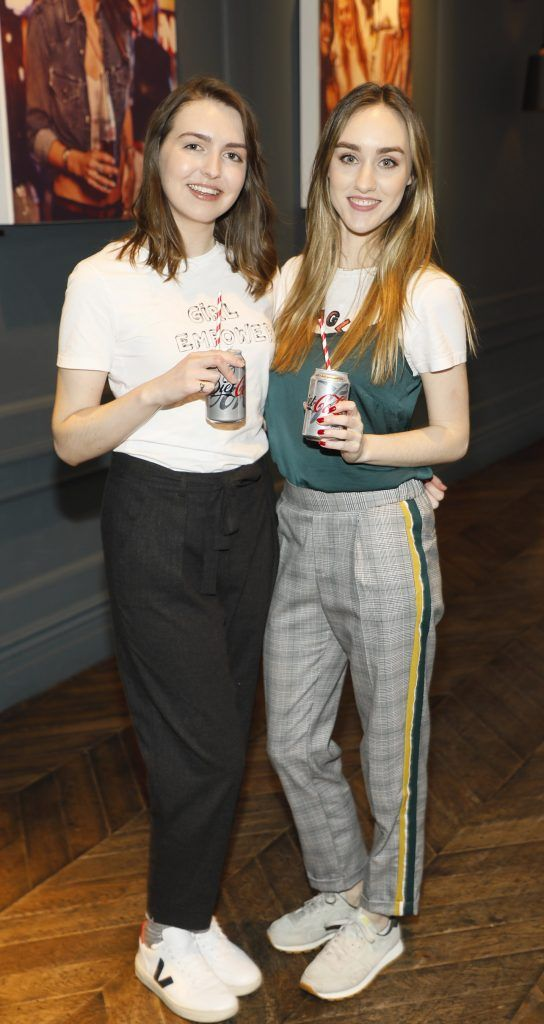 Nicole Thomsen and Adina Whyte at Diet Coke's Because I Can Dancing with Maia and Robert event. Photo Kieran Harnett