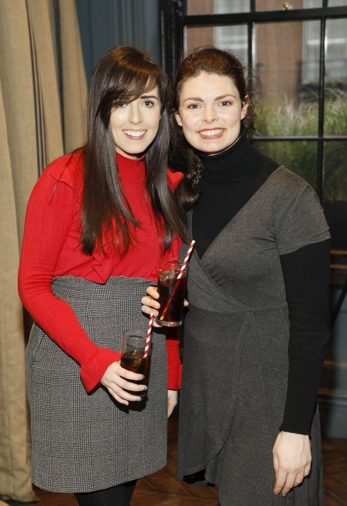 Colette Sexton and Leanna Byrne at Diet Coke's Because I Can Dancing with Maia and Robert event. Photo Kieran Harnett