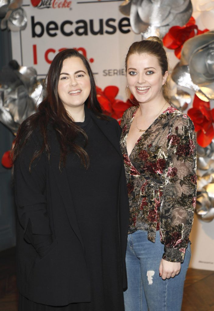 Donna Parsons and Laura Connell at Diet Coke's Because I Can Dancing with Maia and Robert event. Photo Kieran Harnett