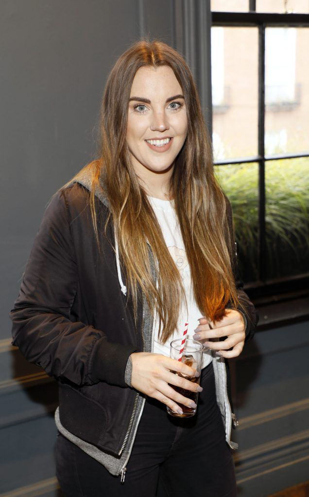 Sarah Hanrahan at Diet Coke's Because I Can Dancing with Maia and Robert event. Photo Kieran Harnett