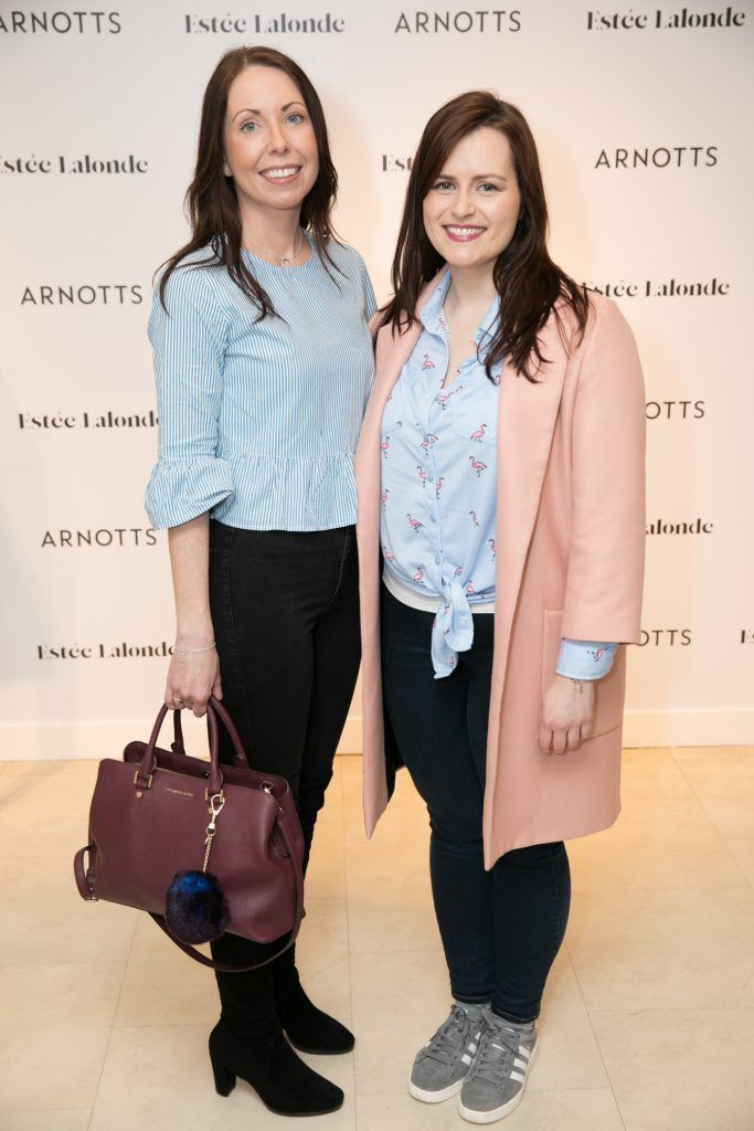 Arnotts Beauty in Bloom with Esréé Lalonde, Saturday 7th April. Photo: Ailbhe O'Donnell