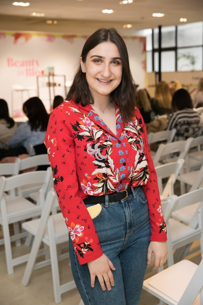 Arnotts 'Beauty in Bloom' event with Estee-Lalonde