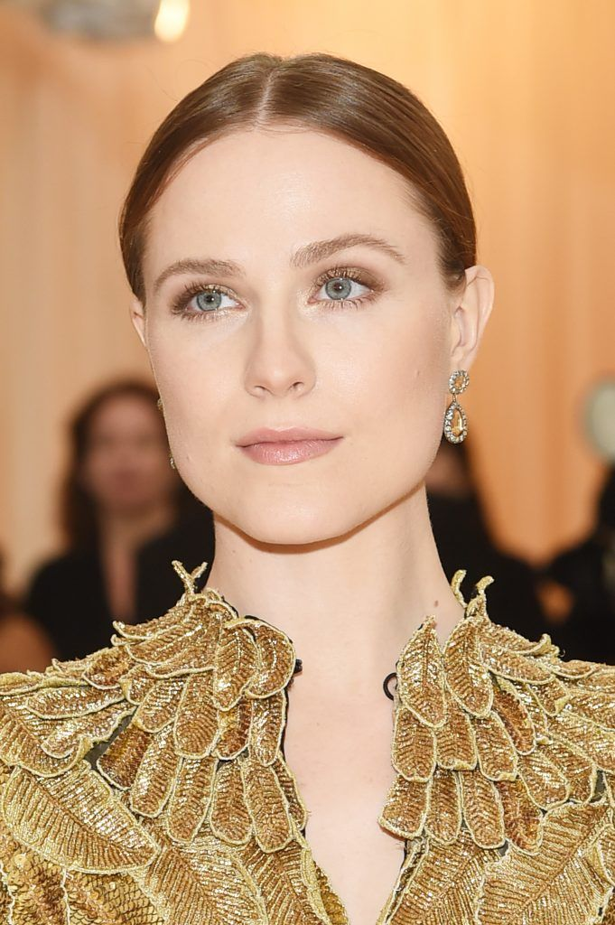 NEW YORK, NY - MAY 07:  Evan Rachel Wood attends the Heavenly Bodies: Fashion & The Catholic Imagination Costume Institute Gala at The Metropolitan Museum of Art on May 7, 2018 in New York City.  (Photo by Jamie McCarthy/Getty Images)