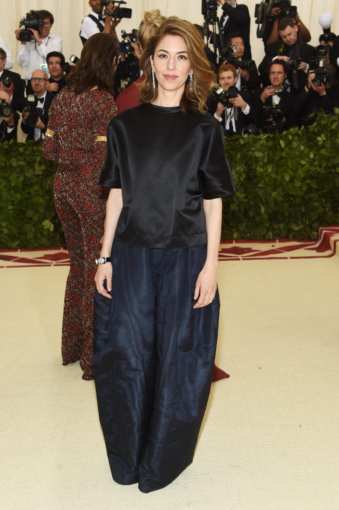 NEW YORK, NY - MAY 07:  Sofia Coppola attends the Heavenly Bodies: Fashion & The Catholic Imagination Costume Institute Gala at The Metropolitan Museum of Art on May 7, 2018 in New York City.  (Photo by Jamie McCarthy/Getty Images)