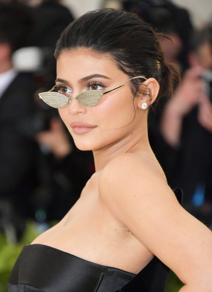NEW YORK, NY - MAY 07:  Kylie Jenner attends the Heavenly Bodies: Fashion & The Catholic Imagination Costume Institute Gala at The Metropolitan Museum of Art on May 7, 2018 in New York City.  (Photo by Neilson Barnard/Getty Images)