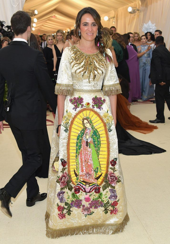 NEW YORK, NY - MAY 07:  Coco Brandolini d'Adda attends the Heavenly Bodies: Fashion & The Catholic Imagination Costume Institute Gala at The Metropolitan Museum of Art on May 7, 2018 in New York City.  (Photo by Neilson Barnard/Getty Images)