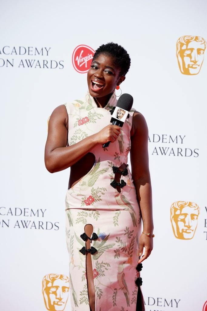 Clara Amfo attends the Virgin TV British Academy Television Awards at The Royal Festival Hall on May 13, 2018 in London, England.  (Photo by Jeff Spicer/Getty Images)
