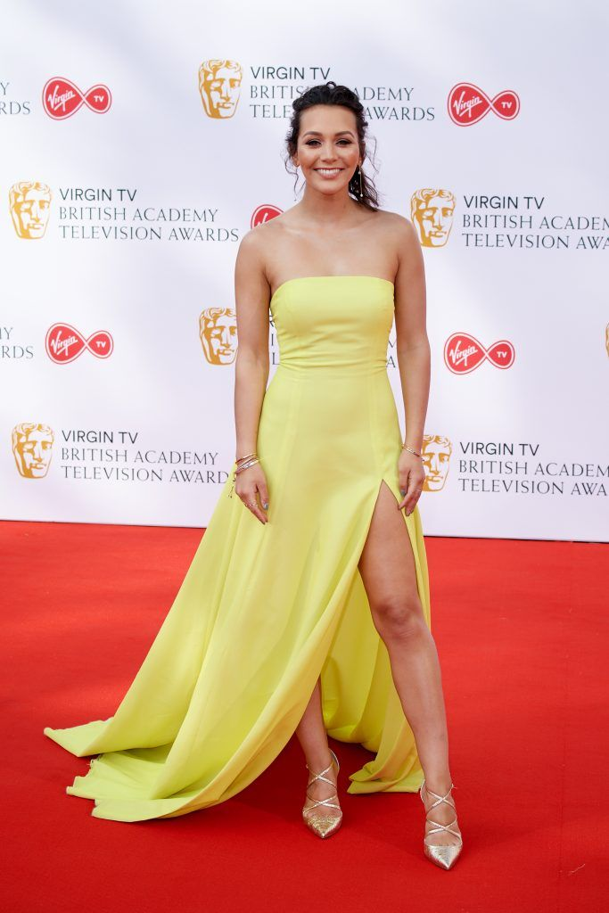 Nadine Mulkerrin attends the Virgin TV British Academy Television Awards at The Royal Festival Hall on May 13, 2018 in London, England.  (Photo by Jeff Spicer/Getty Images)