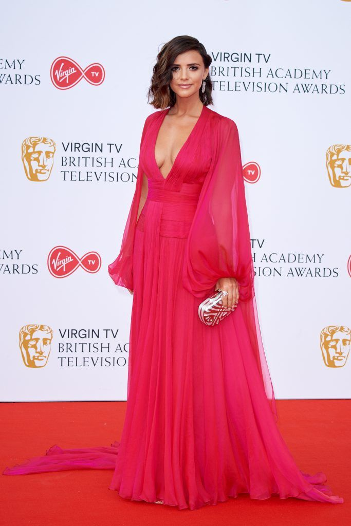 Lucy Mecklenburgh attends the Virgin TV British Academy Television Awards at The Royal Festival Hall on May 13, 2018 in London, England.  (Photo by Jeff Spicer/Getty Images)