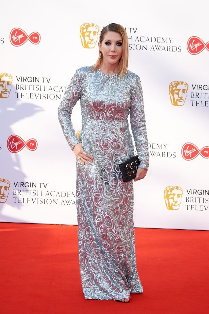 Katherine Ryan attends the Virgin TV British Academy Television Awards at The Royal Festival Hall on May 13, 2018 in London, England.  (Photo by Jeff Spicer/Getty Images)