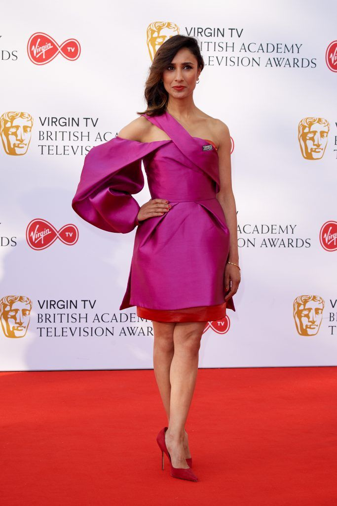 Anita Rani attends the Virgin TV British Academy Television Awards at The Royal Festival Hall on May 13, 2018 in London, England.  (Photo by Jeff Spicer/Getty Images)
