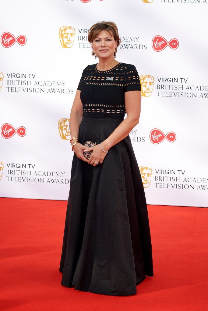 Kate Silverton attends the Virgin TV British Academy Television Awards at The Royal Festival Hall on May 13, 2018 in London, England.  (Photo by Jeff Spicer/Getty Images)