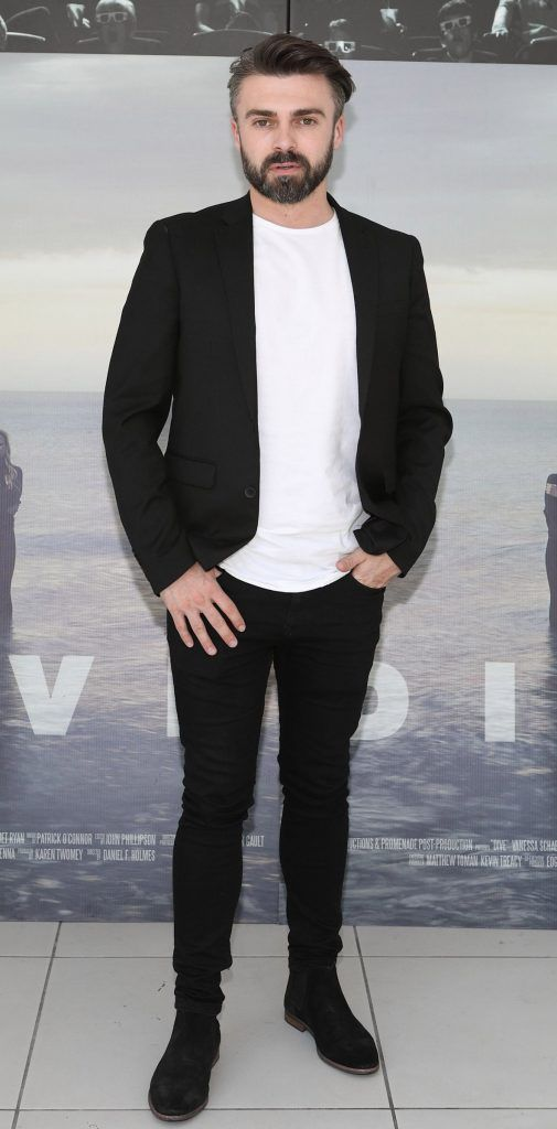 Matthew Toman pictured at the premiere of the new Irish film DIVE at Omniplex Rathmines, Dublin. Photo by Brian McEvoy