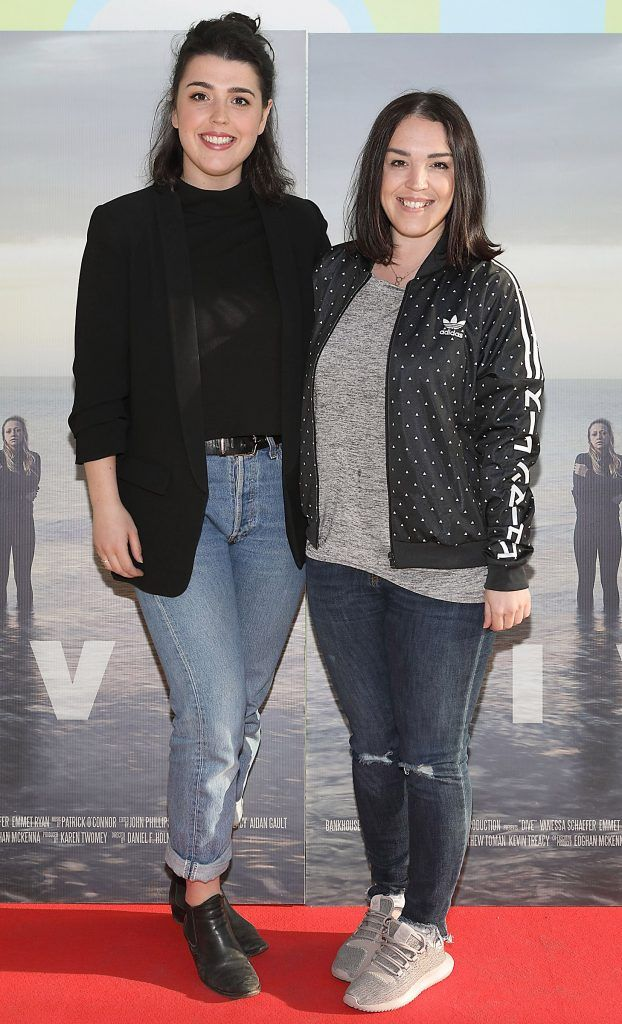 Anna Brady and Martha Brady pictured at the premiere of the new Irish film DIVE at Omniplex Rathmines, Dublin. Photo by Brian McEvoy