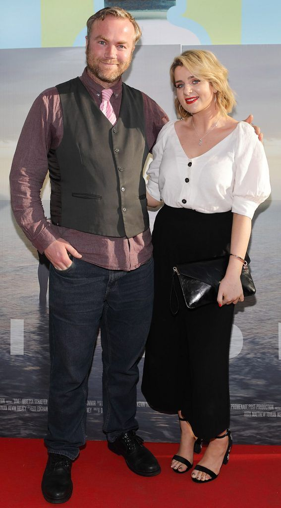 Aidan O'Sullivan and Shauna Dineen pictured at the premiere of the new Irish film DIVE at Omniplex Rathmines, Dublin. Photo by Brian McEvoy