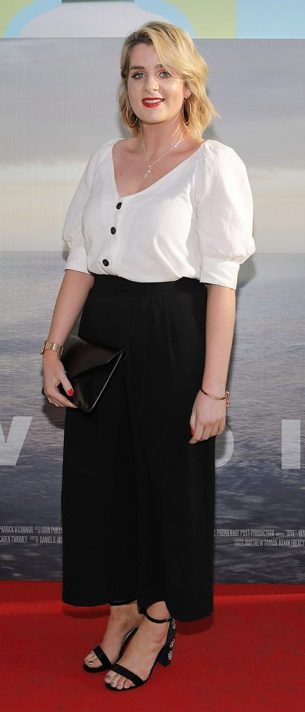 Shauna Dineen pictured at the premiere of the new Irish film DIVE at Omniplex Rathmines, Dublin. Photo by Brian McEvoy