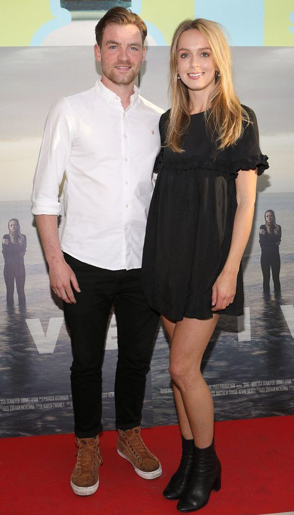 Carl Fitzpatrick and Anna Somsen pictured at the premiere of the new Irish film DIVE at Omniplex Rathmines, Dublin. Photo by Brian McEvoy