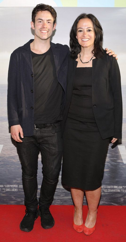 Daniel Holmes and Mary Holmes pictured at the premiere of the new Irish film DIVE at Omniplex Rathmines, Dublin. Photo by Brian McEvoy