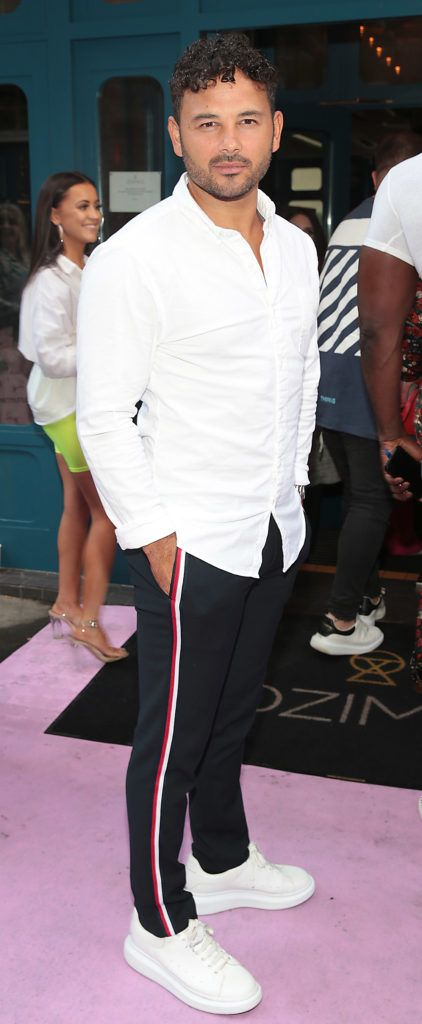 Ryan Thomas at the Pretty Little Thing Summer Party at Zozimus, Dublin. Picture: Brian McEvoy