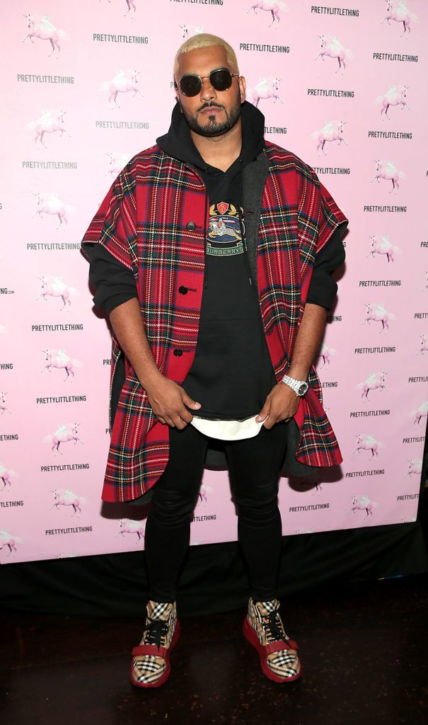 Umar Kamani at the Pretty Little Thing Summer Party at Zozimus, Dublin. Picture: Brian McEvoy