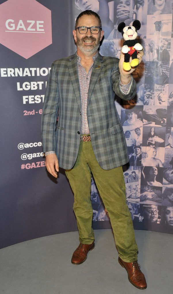 Nickolas Bird film director and producer Pictured at the opening night of the GAZE Film Festival in Light House Cinema. Photos: Patrick O'Leary