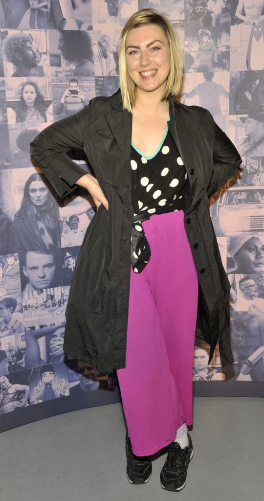 Clodagh Kelly Pictured at the opening night of the GAZE Film Festival in Light House Cinema. Photos: Patrick O'Leary