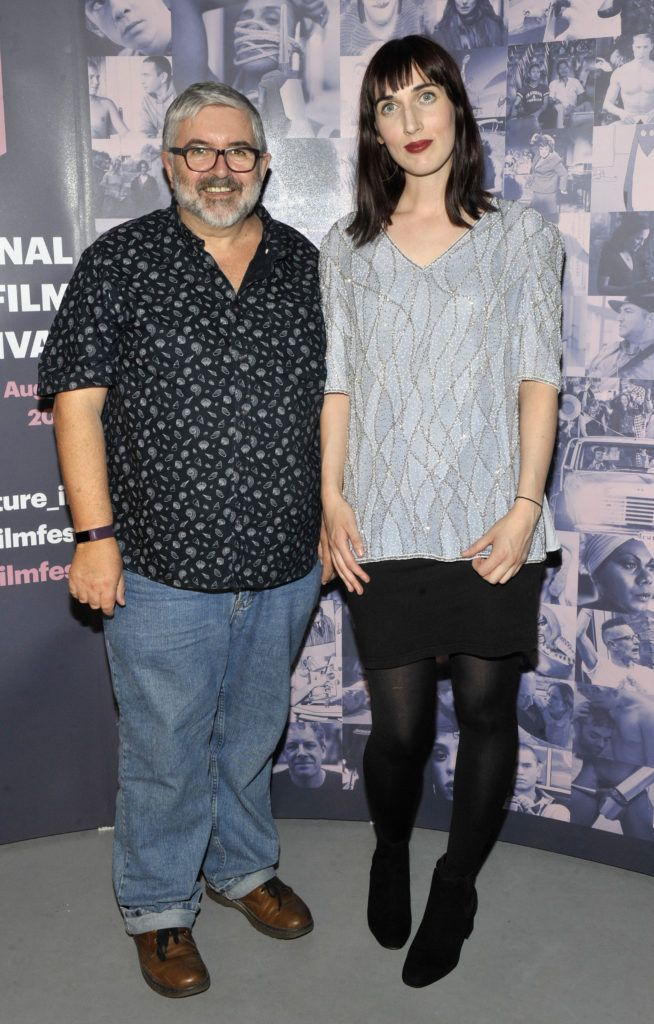 Bill Hughes and Roisín Geraghty (Festival Programmer Pictured at the opening night of the GAZE Film Festival in Light House Cinema. Photos: Patrick O'Leary