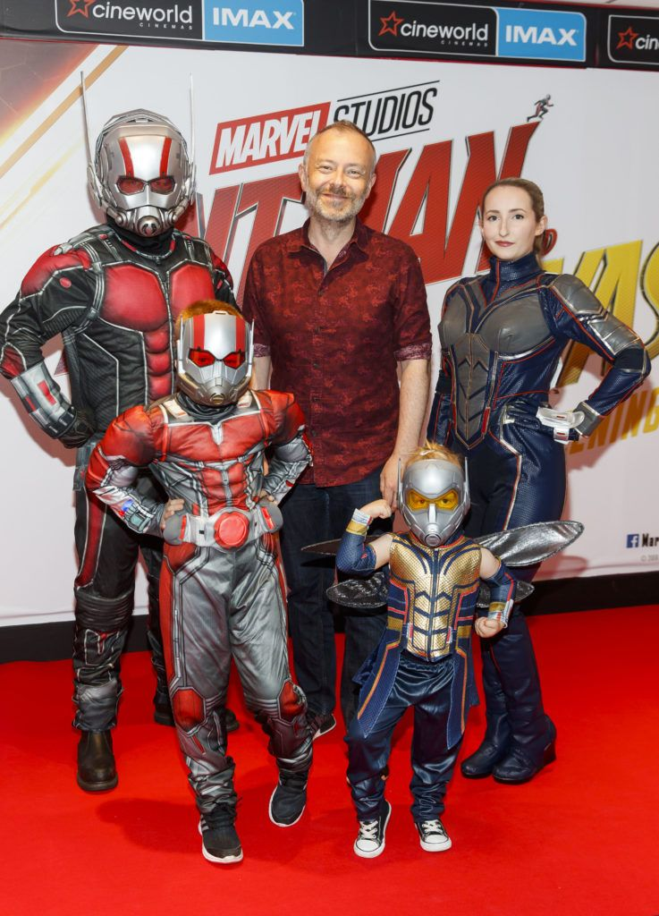 Rick O'shea pictured at the Marvel Studios special preview screening of ANT MAN AND THE WASP in Cineworld IMAX Dublin. Picture Andres Poveda