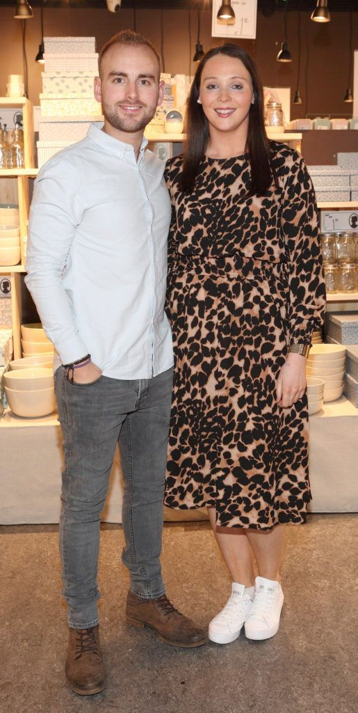 Simon Hagerman and Laura Corcoran at the opening of Søstrene Grene on South Great Georges Street, Dublin. Picture: Brian McEvoy Photograpy