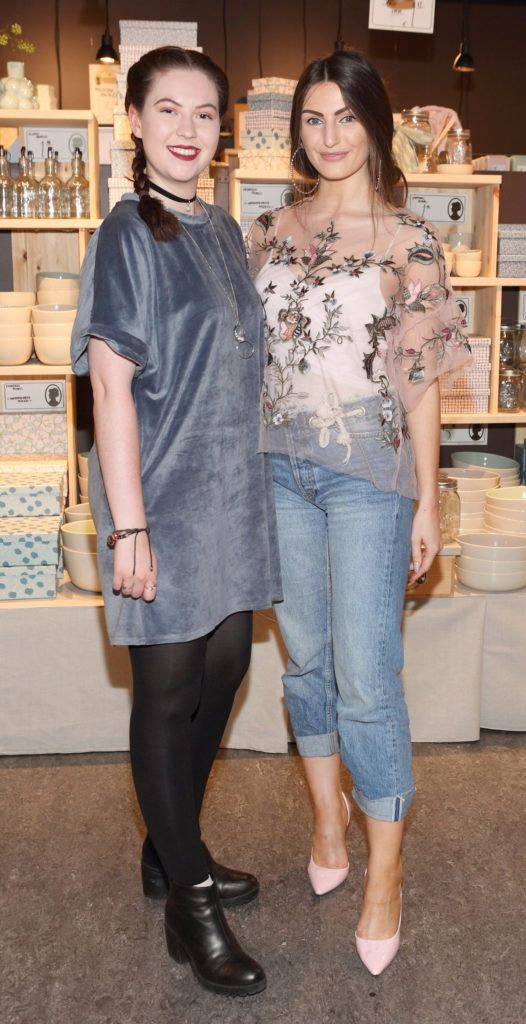 Holli Breslin and Fionnuala Moran at the opening of Søstrene Grene on South Great Georges Street, Dublin. Picture: Brian McEvoy Photograpy